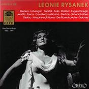 Leonie Rysanek Live Recordings 1955-1991