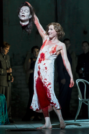 Angela Denoke as Salome [Photo © ROH 2012 / Clive Barda]