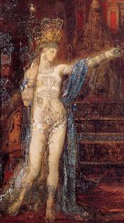 Gustave Moreau: Salomé (1876)