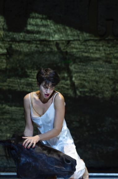 Asmik Grigorian as Salome [Photo copyright Ruth Walz, courtesy of the Salzburg Festival]