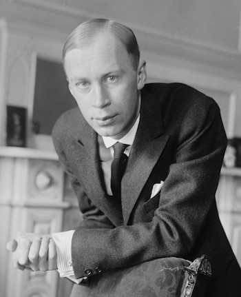 Sergei Prokofiev, 1918 [Source: Wikipedia]