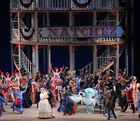 Cast of Show Boat, Lyric Opera of Chicago [Photo by Robert Kusel courtesy of Lyric Opera of Chicago]