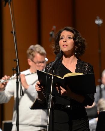 Lisette Oropesa (Rehearsal) [Photo by EElan Photography]