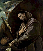 St. Francis of Assisi by El Greco