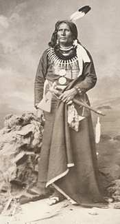 Chief Standing Bear c. 1877