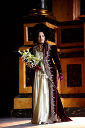 Tiziana Caruso as Tosca [Photo by Alfredo Tabocchini]