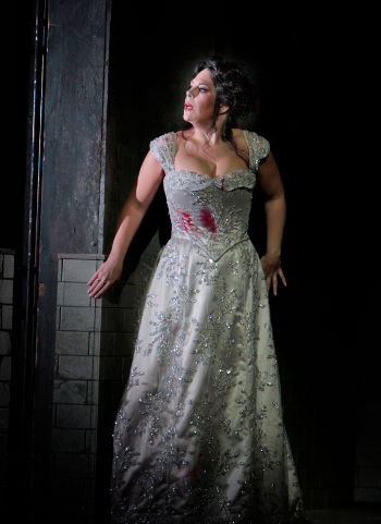 Sondra Radvanovsky in the title role of