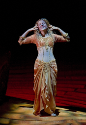 Renée Fleming as Thais [Photo by Ken Howard courtesy of The Metropolitan Opera]