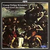 Georg Philipp Telemann: Komm Geist des Herrn: Late Cantatas