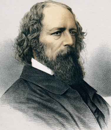 Tennyson-Alfred-lithograph-The-Modern-Portrait-Gallery-1890 Jupiter images.jpg