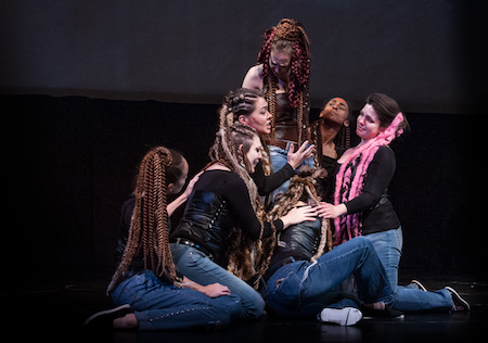 Scene from Amazons in the Fortunate Isles [Photo by Emily  Anderson]