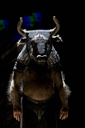 John Tomlinson as the Minotaur (Photo: Bill Cooper)