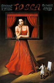 Tosca by Rafal Olbinski