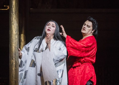 Turandot-ROH-2813 CHRISTINE GOERKE AS PRINCESS TURANDOT, ALEKSANDRS ANTONENKO AS CALAF (C) ROH. PHOTO BY TRISTRAM KENTON.jpg