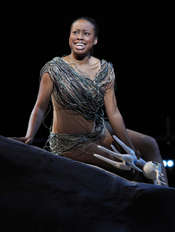 Valerie Ogbonnaya (Silvia) [Photo by Richard Termine courtesy of Gotham Chamber Opera]