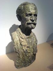 Portrait du compositeur Vincent d'Indy (1851 - 1931) par Antoine Bourdelle au Musée Bourdelle.