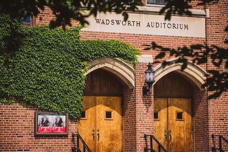 Wadsworth Auditorium [Photo courtesy of Finger Lakes Opera]