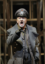 American tenor Chris Merritt is The Captain in San Diego Opera's production of Wozzeck, directed by Des McAnuff. Photo © Ken Howard