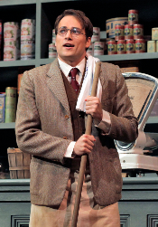Alek Shrader as Albert Herring [Photo by Ken Howard courtesy of Santa Fe Opera]