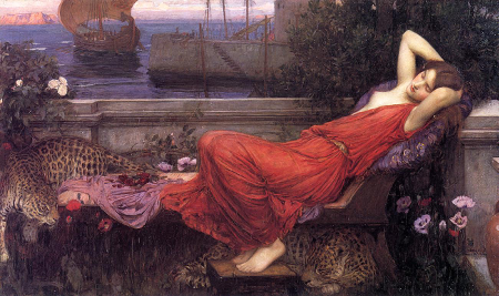 Ariadne by John William Waterhouse (1898) [Source: WikiArt]