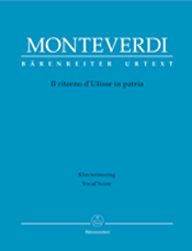Claudio Monteverdi. Il Ritorno d'Ulisse in patria.