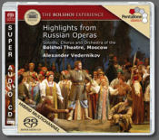 Bolshoi Russian opera highlights CD