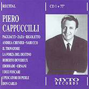 Piero Cappuccilli: Recital
