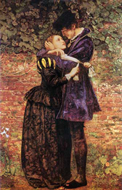 The Huguenot bySir John Everett Millais