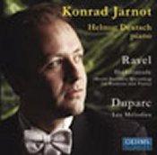 Maurice Ravel: Shéhérezade; Duparc: Mélodies