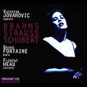 Katarina Jovanovic — Songs by Brahms, Strauss, Schubert