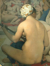 Le bain turc by Jean-Auguste-Dominique Ingres (1862)