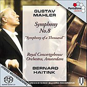 "Gustav Mahler: Symphony no. 8 ""Symphony of a Thousand"""