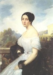 Giulia Grisi (1811-69) by Francois Bouchot, 1840