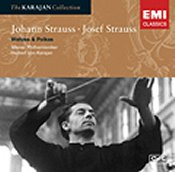 Johann Strauss II and Josef Strauss:  Waltzes & Polkas