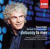 Claude Debussy: La Mer; Prélude à l'après-midi d'un faune; La Boîte à joujoux