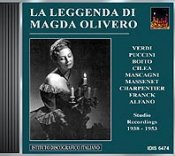 The legendary Magda Olivero