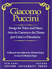 Puccini: Songs For Voice And Piano