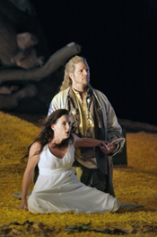 Patricia Risley and Rod Gilfry in The Tempest at Santa Fe (Photo: Ken Howard, © 2006)