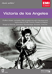 Victoria de los Angeles—Profile in Music