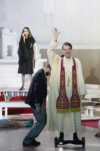 Anna Prohaska (Phani/Fatime), François Lis (Huascar/ Don Alvaro)