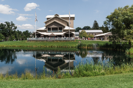 The Glimmerglass Festival's Alice Busch Opera Theater. Photo: Karli Cadel/The Glimmerglass Festival