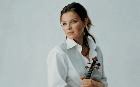 Janine Jansen [Photo courtesy of Oslo Camerata]