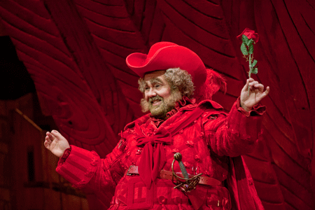 Roberto de Candia is Falstaff [Photo by J. Katarzyna Woronowicz Johnson]