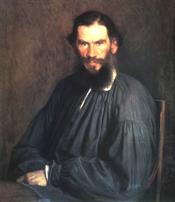 Leo Tolstoy by Ivan Kramskoi