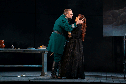 Joseph Calleja and Krassimira Stoyanova [Photo courtesy of Lyric Opera of Chicago]