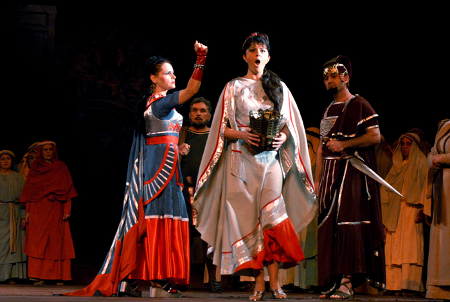 A scene from Nabucco [Photo courtesy of Serbian National Theatre, Novi Sad]