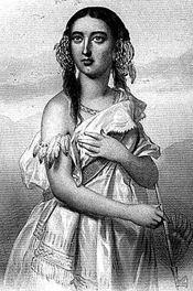 Pocahontas (From the Virginia Plantation by John Langston, 1894)