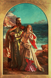 Prospero and Miranda by William Maw Egley (c. 1850) [Source: Wikipedia]