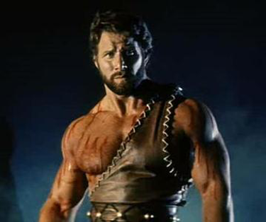 Reg Park as Hercules