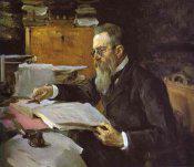 Rimsky-Korsakov by Valentin Aleksandrovich Serov